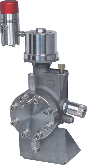 Williams wilroy series hydraulically diaphragm pumps mcmath williams and milton roy have combined technologies to design a pump blending the proven mroy hydraulic by pass diaphragm design with the williams v ccuart Images